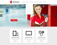 Comodo Responsive html&Wp theme