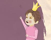 Mommy, I do not wanna be a princess !