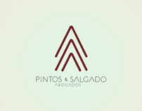 Logo and web design for Pintos & Salgado law firm