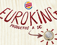 Euroking Burger King 1€