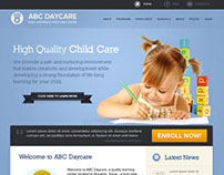 Childcare Website Designs 2012