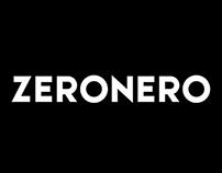 ZERONERO Black Font