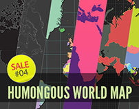 Sale#04: Humongous World Map