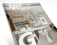 Avantgarde Magazine Cover
