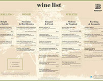 Concept Wine List #2