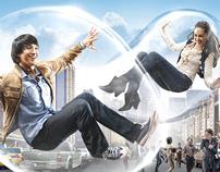 "Surya Slims ""Soap Bubble"" campaign"