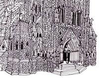 French Gothic Church