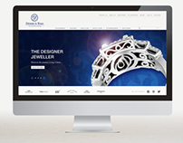 Deonne le Roux Jewellers Website Redesign