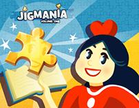 Jigmania! (2014) Character Development