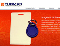 Thomas Instrumentation, Inc. Website