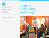 buildingcommunityWorkshop Web Redesign