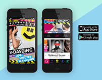 dasding radio  |  radio player app design