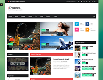iPress - Responsive News/Magazine Drupal theme