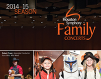 Houston Symphony Family Series Brochure