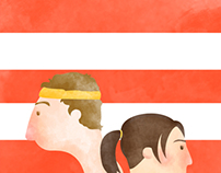 Juno Movie Poster Illustration