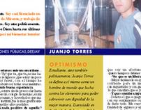 "Self-interview ""La Contra"" (La Vanguardia / Barcelona)"