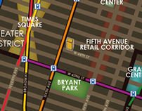Algonquin Hotel Map