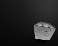 3D Block Man