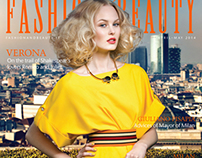 Fashion&Beauty Milan Issue 4 cover & fashion editorial