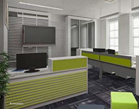 Proposed Interior Design for Brunei Office in London
