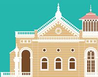Aga Khan Palace - Illustration