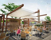 Proposed Al-fresco Food Court at Precinct 15 Putrajaya