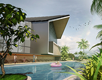 Proposed Golf Clubhouse at Enstek,N.Sembilan Malaysia