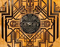 The Great Gatsby LP package