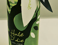 Bouteille huile d'olive / Olive Oil / Packaging