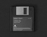 Legacy Fonts – A Type Specimen
