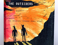 Book Cover for The Outsiders by S.E.Hinton