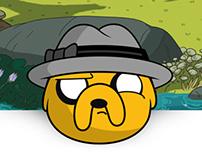 Adventure Time Emoticons For GroupME Emoji