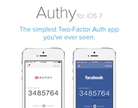 Authy for iOS 7