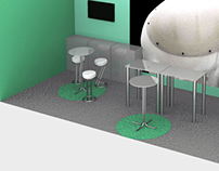 A Congress Booth Visualisation for Skulle Implants Oy