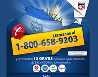 Landingpage - Red4G / El Salvador