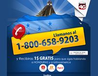 Landingpage - Red4G / Honduras