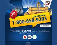 Landingpage - Red4G / Guatemala