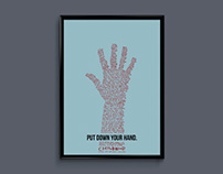 Put Down Your Hand Poster