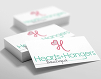Heart & Hangers Logo & Stationery