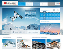 Webdesign – Grächenldon Ski Resort