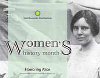 Women History Month, White House