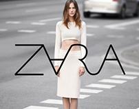 ZARA logo redesign