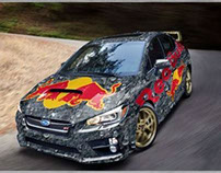 Red Bull Rally Inspired Wrap