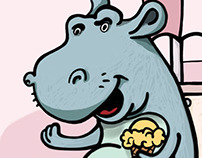 hippo like ice creams :)