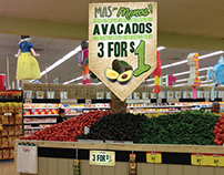 United Supermarkets - Mas Por Menos In-Store Signage