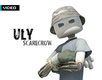 Uly Scarecrow: Walk Cycle