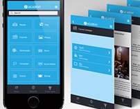 iACADEMY App Mockup