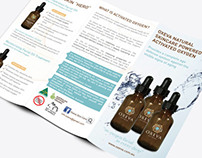 Oxeva Natural Skin Care Brochure