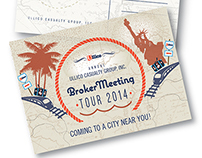 Brokers' Meetings Tour 2014 Announcement Card