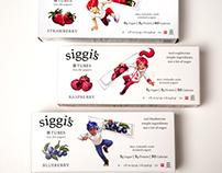 Siggi's Yogurt Tubes Character Art